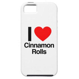 i love cinnamon rolls iPhone 5 cover