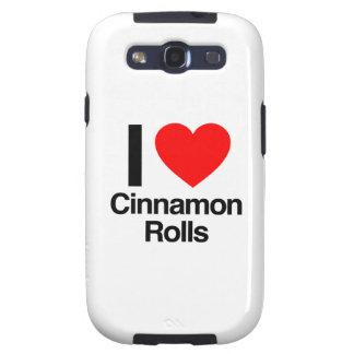 i love cinnamon rolls samsung galaxy s3 case