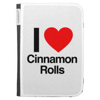i love cinnamon rolls kindle 3G covers