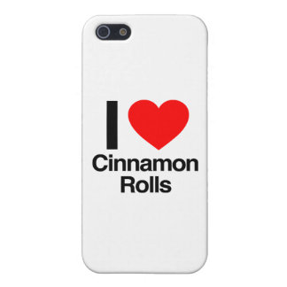 i love cinnamon rolls cover for iPhone 5/5S