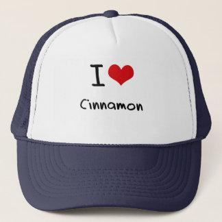 I love Cinnamon Trucker Hat