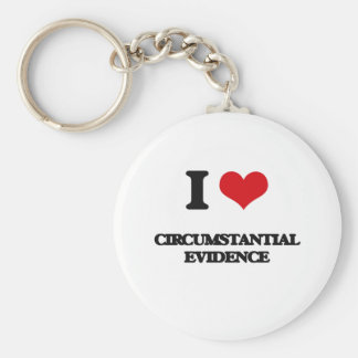 I love Circumstantial Evidence Keychains