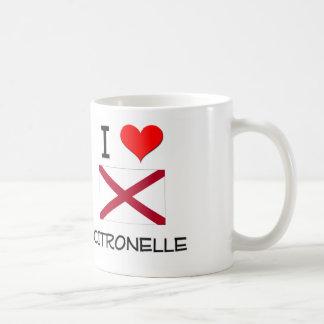 I Love CITRONELLE Alabama Basic White Mug