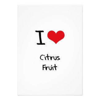I love Citrus Fruit Announcement