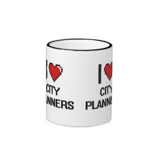 I love City Planners Ringer Coffee Mug