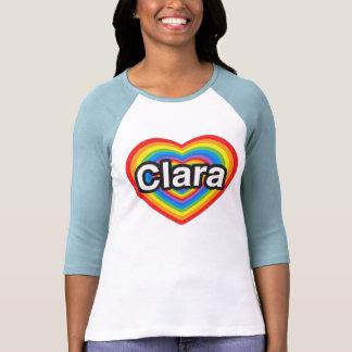 I love Clara. I love you Clara. Heart Tees
