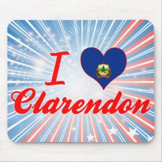 I Love Clarendon, Vermont Mousepads