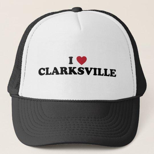 I Love Clarksville Illinois Cap