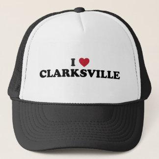I Love Clarksville Illinois Trucker Hat