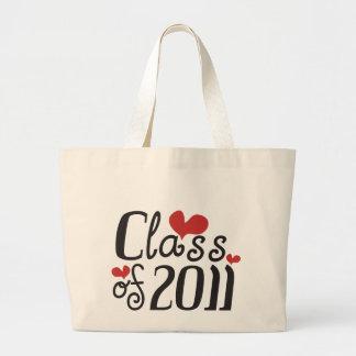 I Love Class of 2011 Jumbo Tote Bag