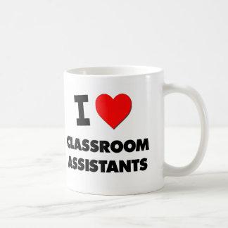 I Love Classroom Assistants Coffee Mug