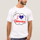 I Love Clawson, Michigan T-Shirt