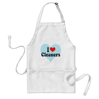 I Love Cleaners Apron