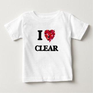 I love Clear Shirt