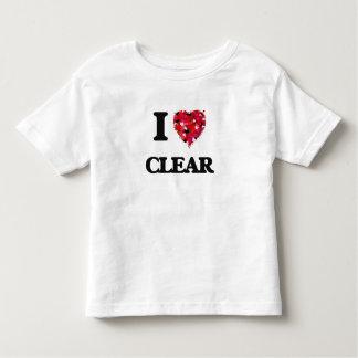 I love Clear Shirts