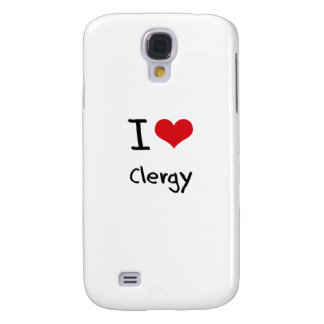 I love Clergy Samsung Galaxy S4 Cover