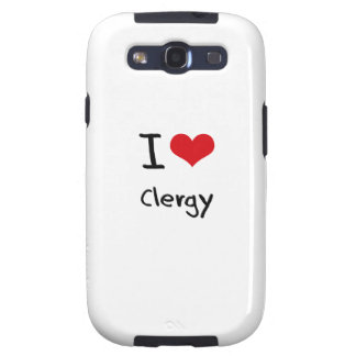 I love Clergy Samsung Galaxy SIII Cover