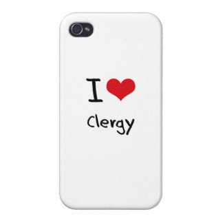 I love Clergy iPhone 4/4S Cover