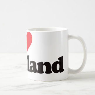 I Love Cleveland Coffee Mug