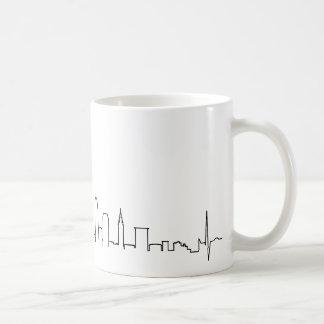I love Cleveland in an extraordinary ecg style Coffee Mug