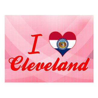 I Love Cleveland, Missouri Post Cards