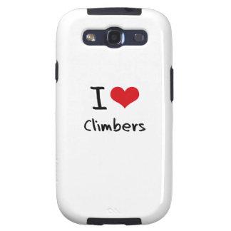 I love Climbers Samsung Galaxy SIII Covers