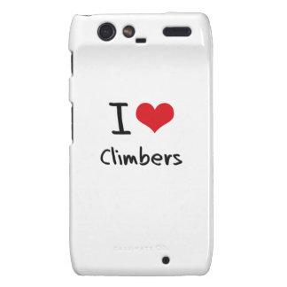 I love Climbers Motorola Droid RAZR Covers