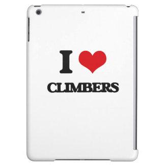 I love Climbers iPad Air Cases