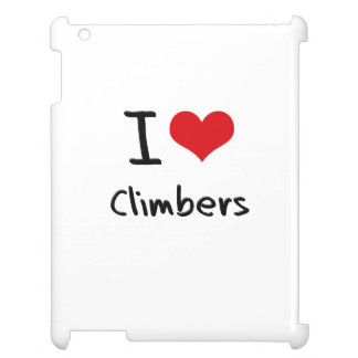 I love Climbers Cover For The iPad 2 3 4