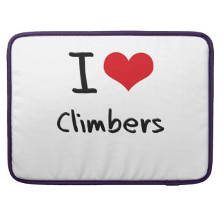 I love Climbers Sleeves For MacBooks