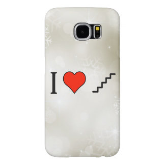 I Love Climbing Stairs Samsung Galaxy S6 Cases
