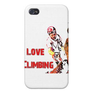 I Love Climbing Weighting iPhone 4 Case