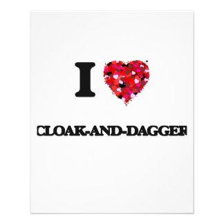 I love Cloak-And-Dagger 11.5 Cm X 14 Cm Flyer