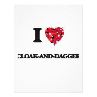 I love Cloak-And-Dagger 21.5 Cm X 28 Cm Flyer