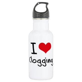 I love Clogging 532 Ml Water Bottle