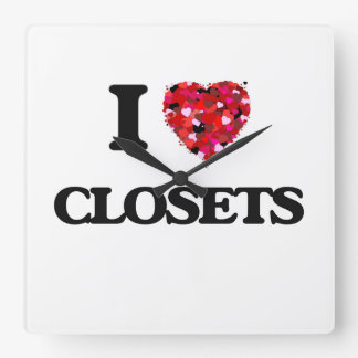 I love Closets Clock