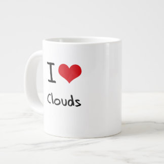 I love Clouds Jumbo Mug