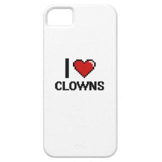 I love Clowns iPhone 5 Case