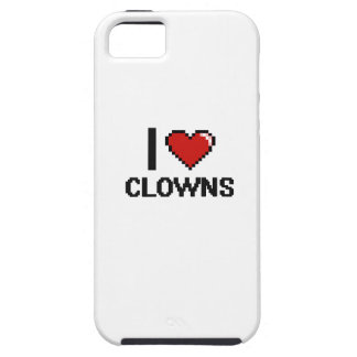 I love Clowns iPhone 5 Covers