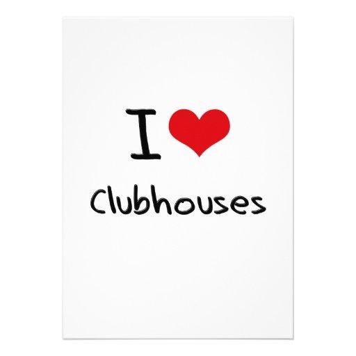 I love Clubhouses Invite