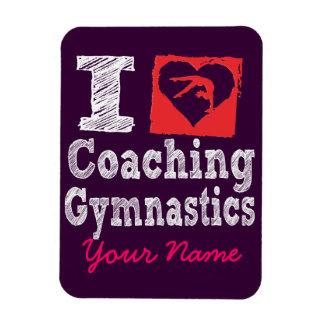 I love coaching gymnastics magnets