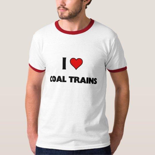 I love coal Trains T-Shirt