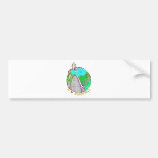 I LOVE Coasters Car Bumper Sticker