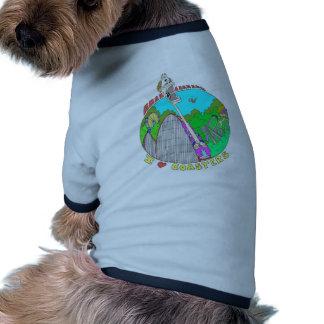 I LOVE Coasters Ringer Dog Shirt