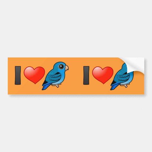 I Love Cobalt Linnies Bumper Stickers