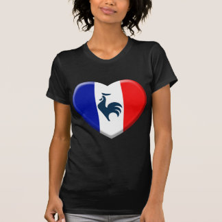 I love cock France flag Tee Shirt