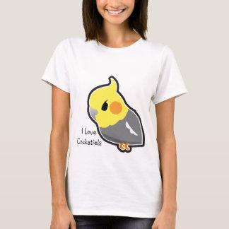 I Love Cockatiels (customizable) T-Shirt