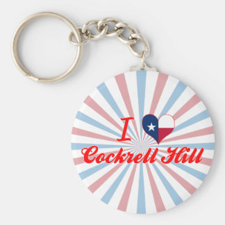 I Love Cockrell Hill, Texas Key Chain