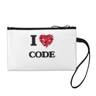 I love Code Coin Purse