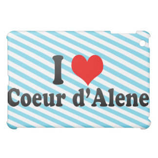 I Love Coeur d Alene United States iPad Mini Cases